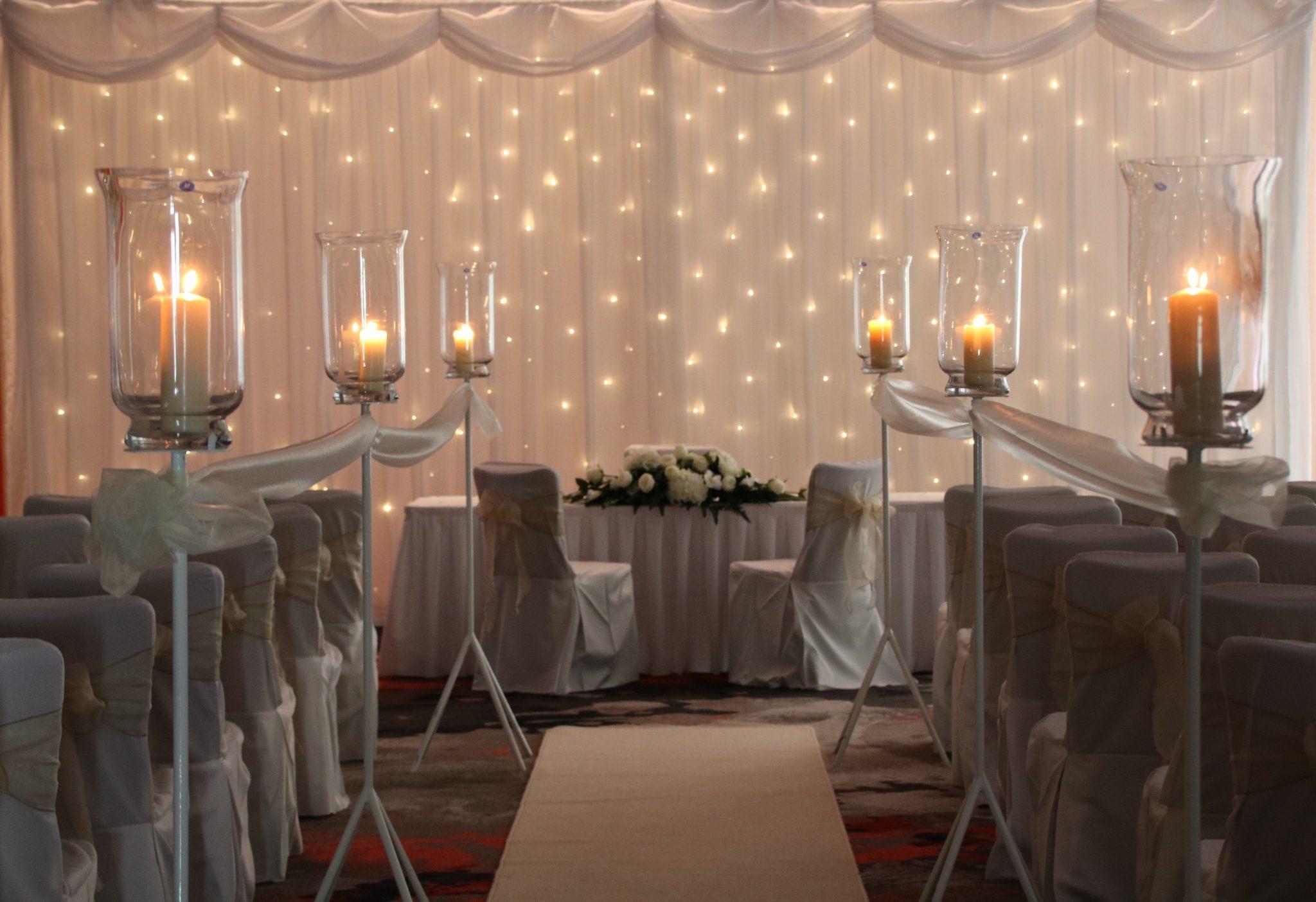Indoor civil ceremony in wexford