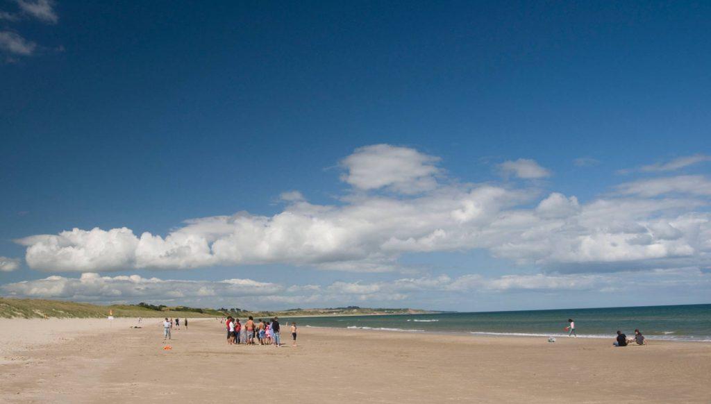 sunny day at Curracloe Beach Wexford